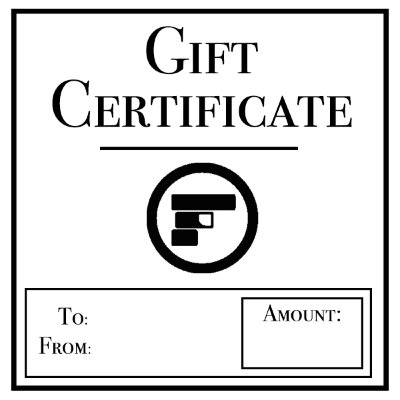 Gift Certificate Gift Certificate on sale